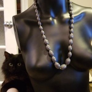 Hard to Find D'orlan Lucite Beaded Necklace